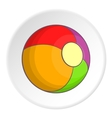 Ball icon cartoon style vector image vector image