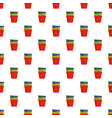 flowerpots icon flat style vector image vector image