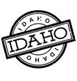 Idaho rubber stamp vector image vector image