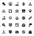 Internet Networking and Communication Icons 4 vector image