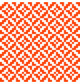 seamless weaving textile pattern for clothing vector image vector image