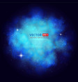 nebula abstract background with place for text vector image
