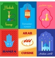 Arabic Culture Poster vector image vector image