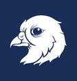 Bird Head Silhouette vector image vector image