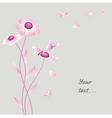 flower petals vector image vector image