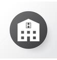 hospital icon symbol premium quality isolated vector image