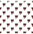 letter w from latin alphabet made of chocolate vector image vector image