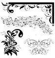 natural patterns butterfly leaf vector image vector image