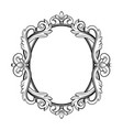 ornamental vintage frame in vector image vector image