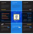 Resume Design vector image vector image