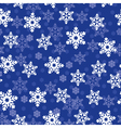 snow pattern vector image vector image