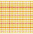 yellow watercolor gingham plaid striped paint vector image