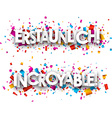 Amazing paper banners vector image vector image
