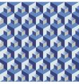 cubes pattern vector image vector image