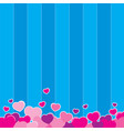 love background design vector image vector image