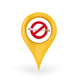 No Smoking Location vector image vector image