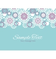 purple and blue floral abstract horizontal vector image