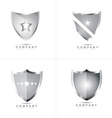 Shield logo vector image vector image