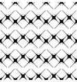 Star black seamless pattern vector image