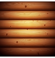Wooden Timbered Wall Seamless Background vector image vector image
