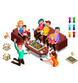 adults leisure board games vector image
