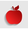 Apple sign vector image vector image