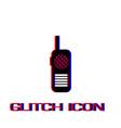 baby monitor icon flat vector image vector image