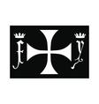 Columbus day symbol icon vector image vector image