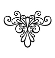 Deco Symmetrical Element vector image vector image