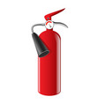 fire extinguisher - realistic isolated vector image