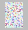 gradient trendy modern geometrical square vector image vector image