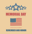 happy memorial day vector image vector image