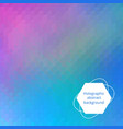holographic editable backdrop vector image vector image