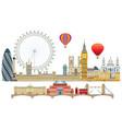 london skyline 2 vector image vector image