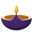 oil aromateraphy candle vector image vector image