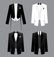mens dress code vector image