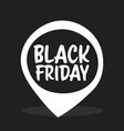 big sale sticker black friday special offer sale vector image