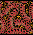 ethnic style paisley seamless pattern ornamental vector image vector image