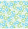 Green-Blue swirl pattern background vector image vector image