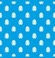 jacket pattern seamless blue vector image vector image