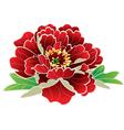 mutanhua flower vector image vector image