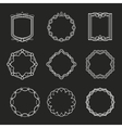 Outline frames vector image