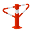 Parking construction barricade icon in cartoon vector image vector image