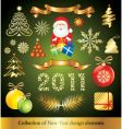 celebration design elements vector image
