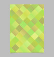 abstract modern geometrical diagonal square page vector image vector image