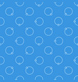 blue seamless pattern made with captive vector image vector image