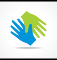 Businessman handshake icon stock vector image