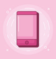 cellphone device icon vector image vector image