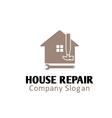 House Repair Design vector image vector image