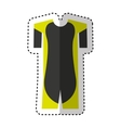 skater uniform isolated icon vector image